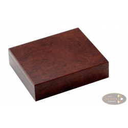 Humidor Wurzelholzdekor 26x22x7 cm