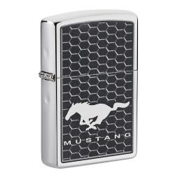 ZIPPO chrom poliert Mustang 60005766