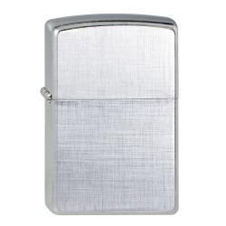 ZIPPO chrom Linen Weave 60001256