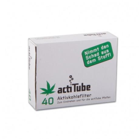 ActiTube Regular 9mm Aktivkohlefilter 40 Stück