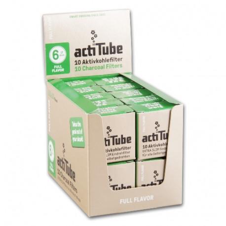 ActiTube Extra Slim 6 mm Aktivkohlefilter 20 x 10 Stück