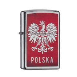 ZIPPO chrom gebürstet Polska 60002128