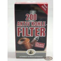 Ermuri 9mm Aktiv Kohlefilter (200)